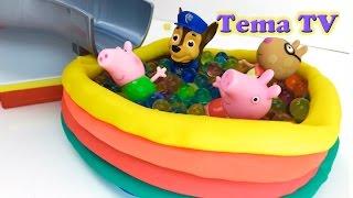 Щенячий патруль игра Свинка Пеппа шарики Орбиз