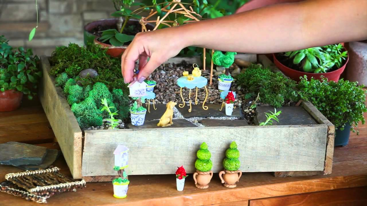 Mini Garden Accessories from New Creative by Evergreen Enterprises