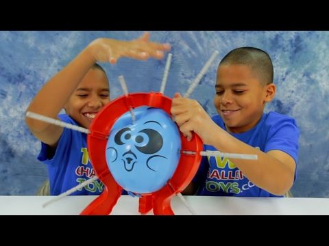 BOOM BOOM BALLOON Challenge! Playtime Game Review Surprise Blind Bag Toy
