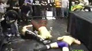 JACK EVANS v/s TEDDY HART v/s PETTEY WILLIAMS CZW WRESTLING