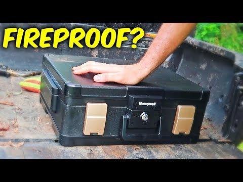Fireproof Safe Test