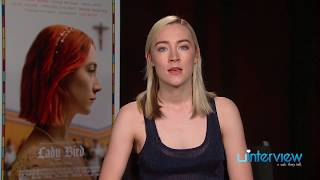 Saoirse Ronan On 'Lady Bird,' Greta Gerwig