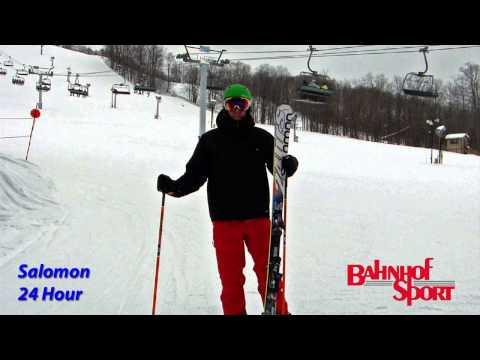 Salomon 24 Hour Ski Test w/ Ryan Smith 2014/15