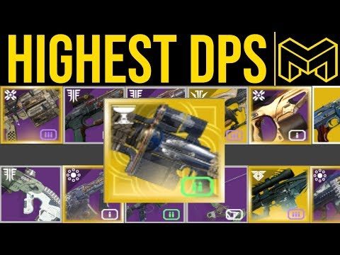The Highest Damage Weapons For Season Of Dawn | Destiny 2