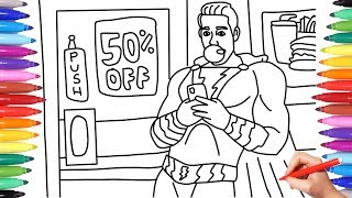 SHAZAM MOVIE 2019 // SHAZAM COLORING PAGES FOR KIDS // SHAZAM COLORING SCENES PAGES