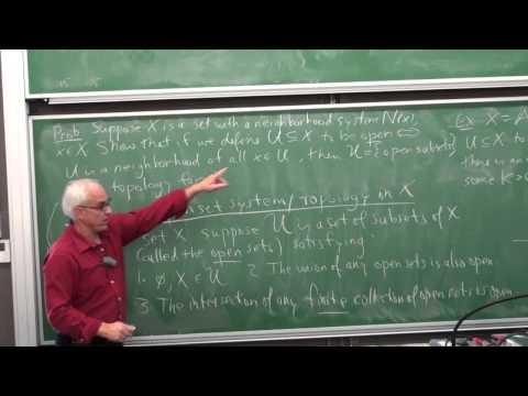Topological spaces and manifolds | Differential Geometry 24 | NJ Wildberger