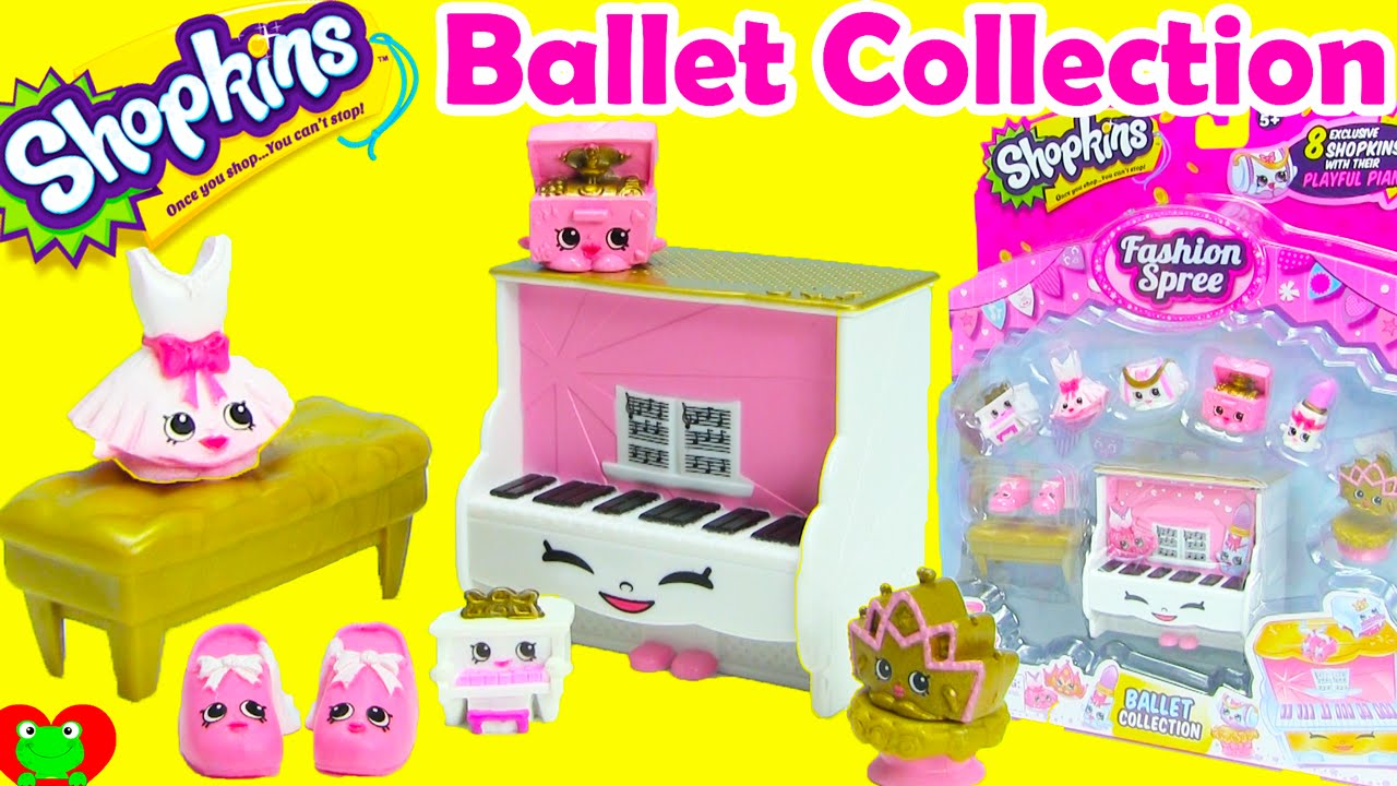 Shopkins Ballet Collection Playset Season 3 Fashion Spree