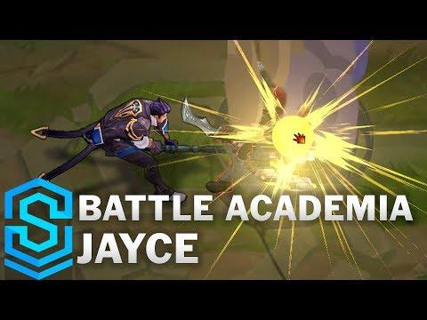 Battle Academia Jayce Skin Spotlight - Pre-Release - League of Legends