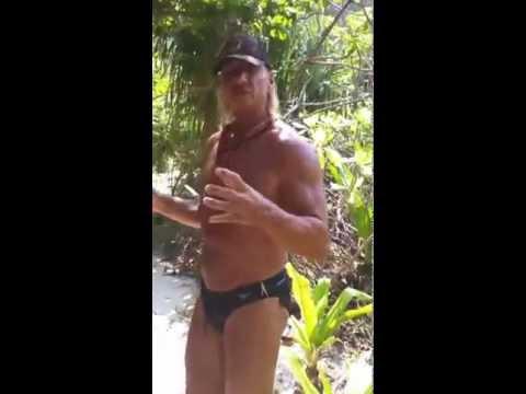 "Phi Phi island; Wild, Tame, Uncut; 'The Beach"" part 1"