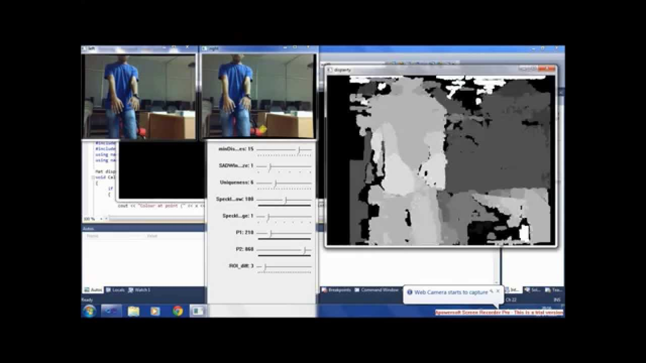 Fun With OpenCV- Stereo-camera construction and testing
