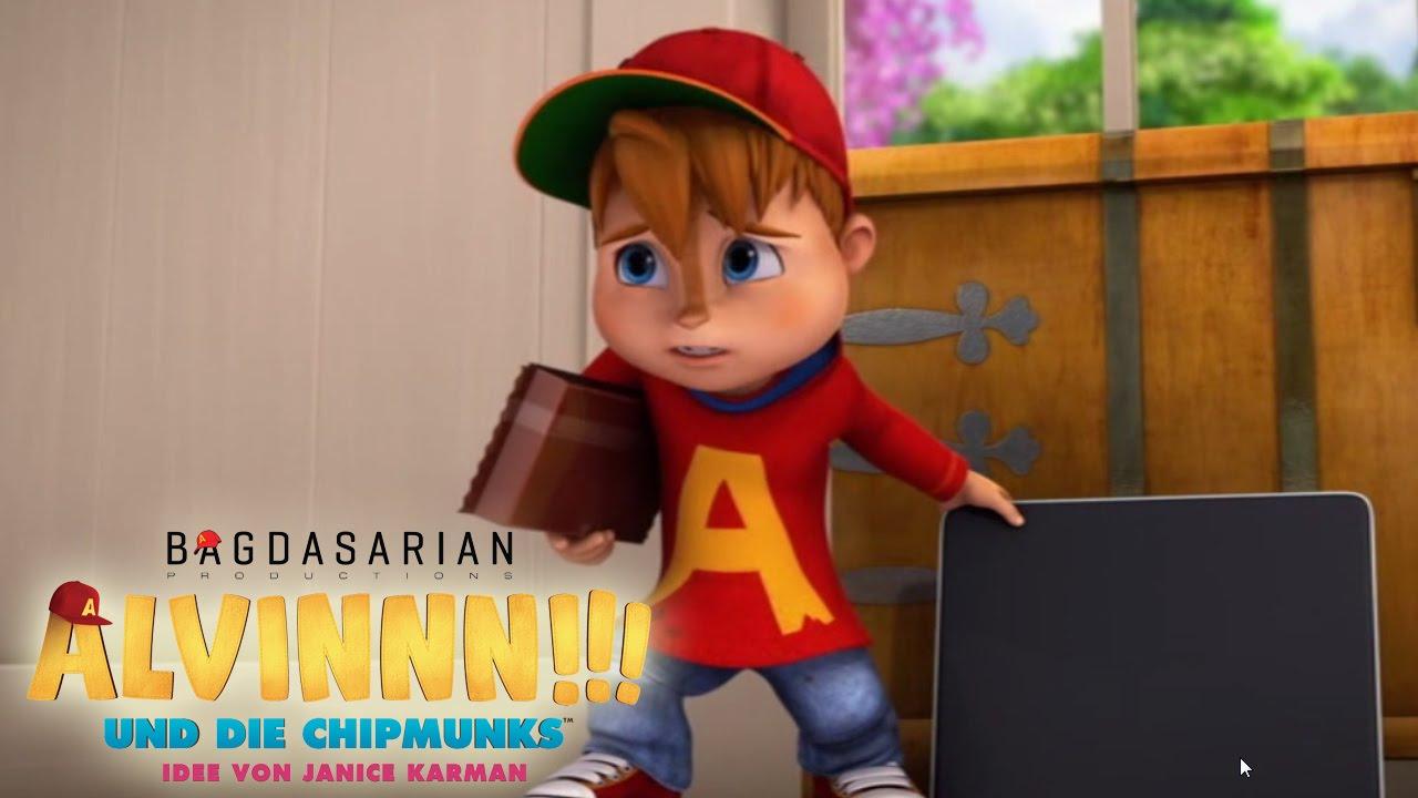 Alvinnn Und Die Chipmunks Eine Faule Ausrede Trailer Youtube