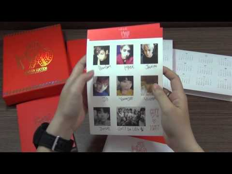 [UNBOXING] - GOT7 - MAD Winter Edition ( Happy ver )