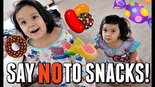 "SAY ""NO"" TO SNACKS! - Dancember 22, 2017 -  ItsJudysLife Vlogs"