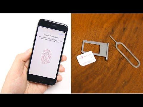 Apple IPhone 6 / 6 Plus: Einrichten & Nano-Sim Einlegen | SwagTab