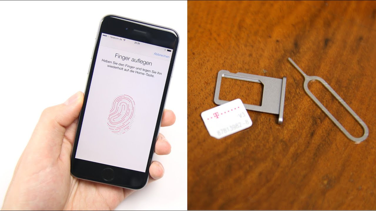 Apple Iphone 6 6 Plus Einrichten Nano Sim Einlegen Swagtab
