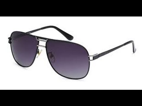 Eason Eyewear Men Womens Military Aviator Polarized Sunglasses - YouTube ca00a5b7d7