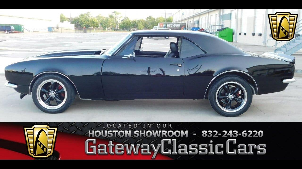 1967 Chevrolet Camaro Restomod Stock #468 Gateway Classic Cars of Houston