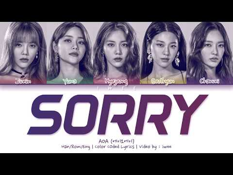 [QUEENDOM FINAL] AOA (에이오에이) - Sorry (Han|Rom|Eng) Color Coded Lyrics/한국어 가사