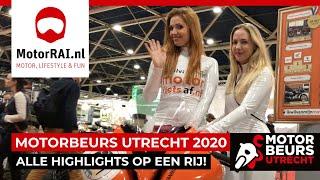 ALLE highlights MOTORbeurs Utrecht 2020 - MotorRAI TV