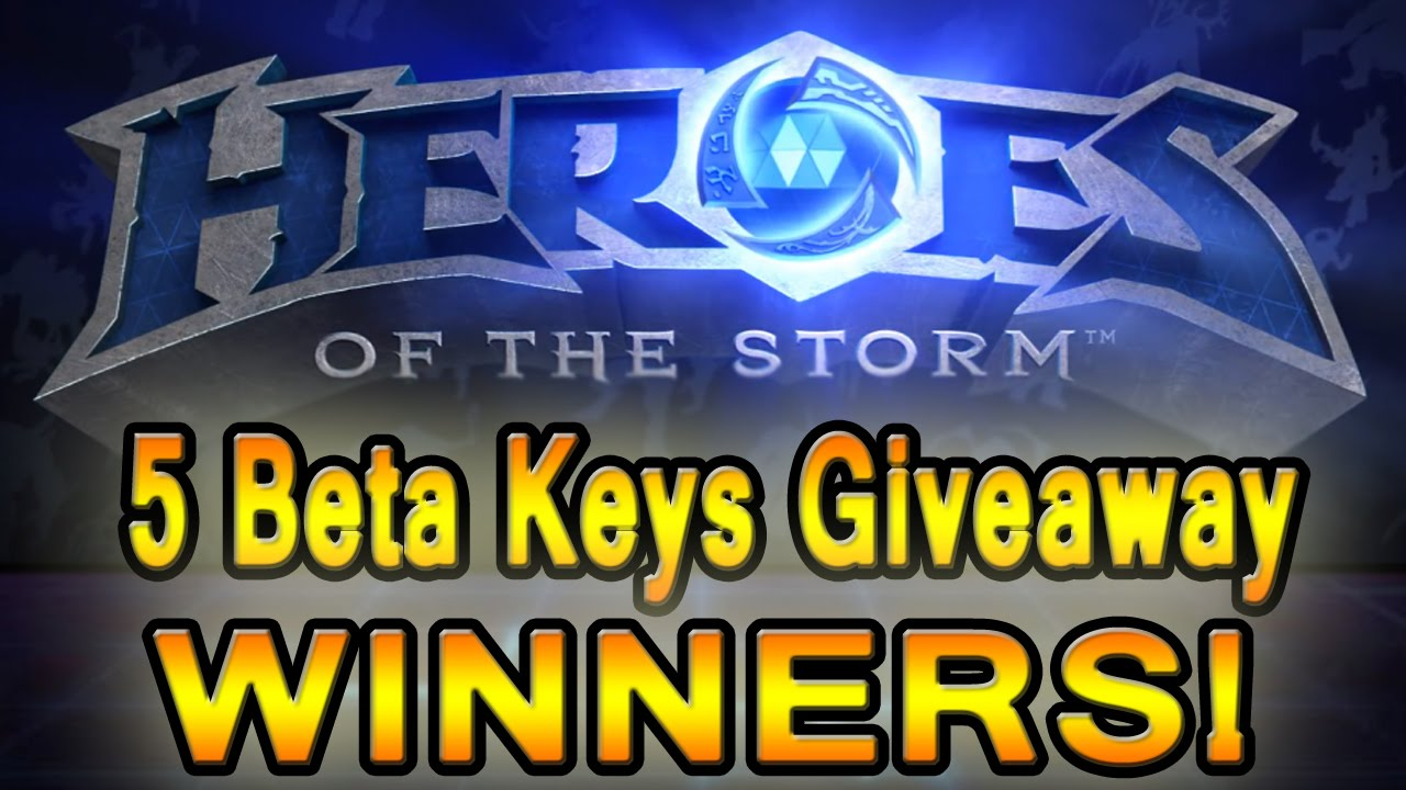 heroes of the storm beta keys giveaway