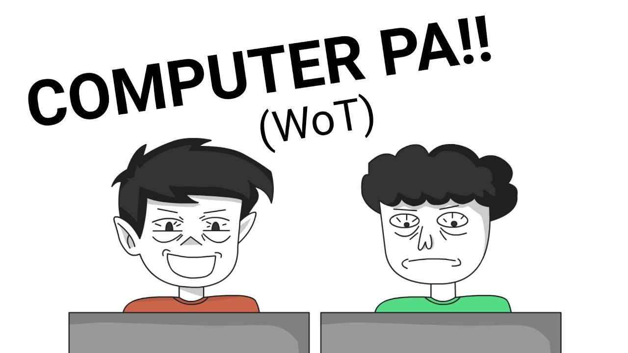 COMPUTER SHOP (WoT)   PINOY ANIMATION
