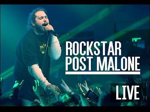 ► Post Malone - Rockstar (Live) HD