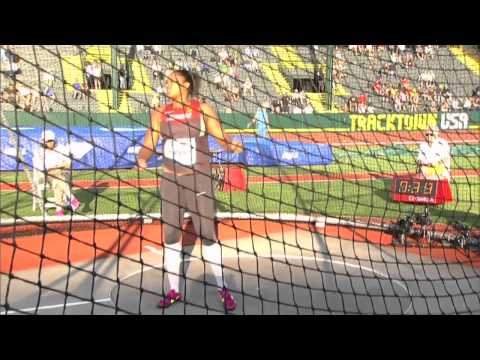 DL Eugene - Women's Javelin 1 Throw from YouTube · Duration:  38 seconds
