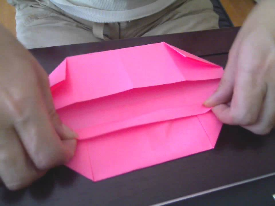 Simple Origami Box Or Basket Youtube
