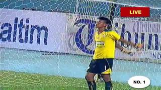 (SEMI FINAL) Arema Cronus Vs Madura United 1- 4 Piala Gubernur Kaltim 2016   FULL Adu Pinalti
