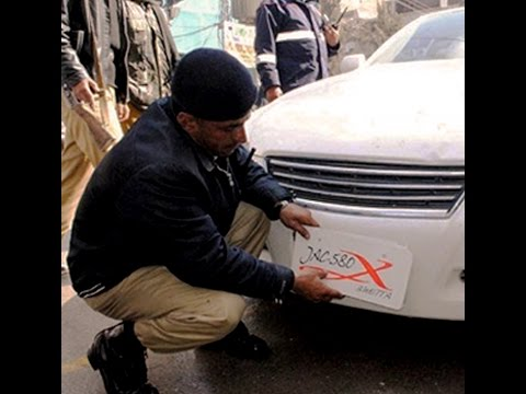 Motorway police crackdown against illegal number plates
