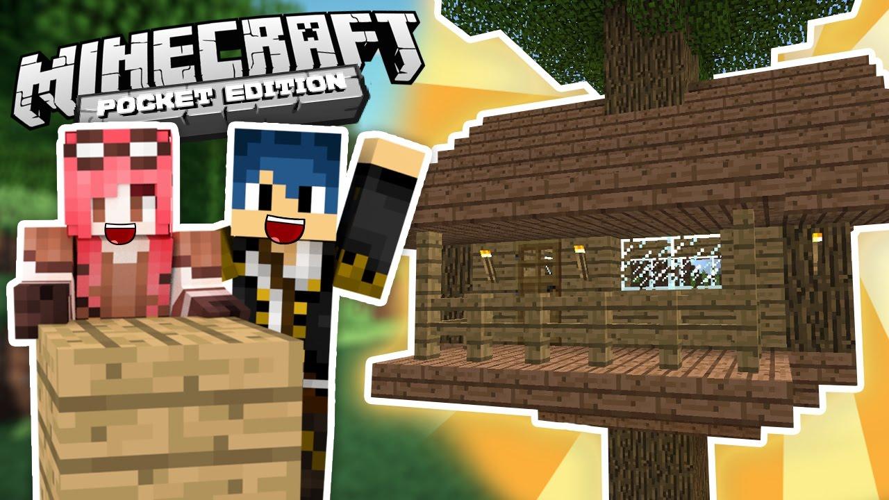 Minecraft pe la casa sull 39 albero ep 1 youtube for Kit per costruire casa sull albero