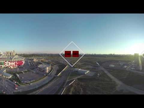 Coupe du monde 2018 : le stade du Spartak à Moscou vu à 360 degrés