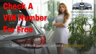 Where To Check VIN Numbers For Free screenshot 4