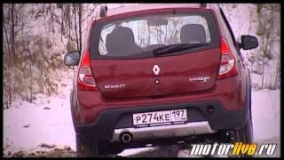 Тест Renault Stepway 2012