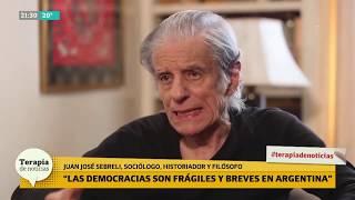 """Juan José Sebreli: """"Cristina es una psicópata y Alberto un cínico"""""""