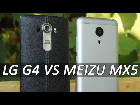 Meizu MX5 VS LG G4 большое сравнение. Что лучше LG G4 или Meizu MX5 мнение FERUMM.COM