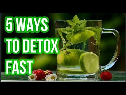 5 Gentle & Simple Ways To NATURALLY DETOX EVERY DAY | How To DETOX Quickly
