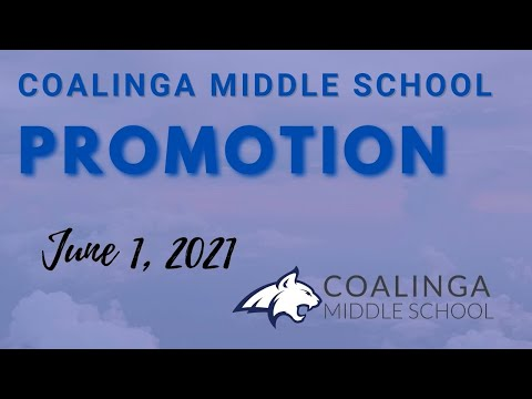 Coalinga Middle School Promotion 2021