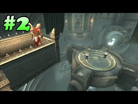 Prince of Persia: The Sands of Time Walkthrough - Part 2 (All Life Upgrades) (PS3 HD)