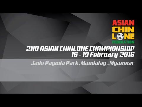 2ND ASIAN CHINLONE CHAMPIONSHIP 2016 , MYANMAR : WOMEN MATCH NO: 4 (SAME STROKE) LAOS & INDONESIA