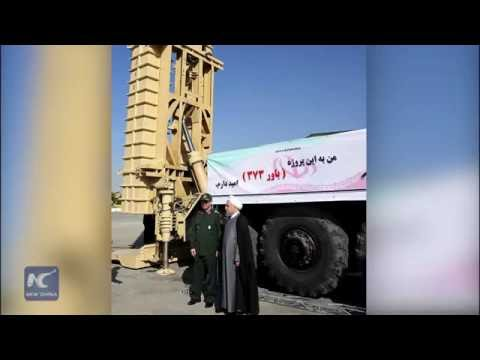 Iran unveils its 1st self-manufactured missile defense system