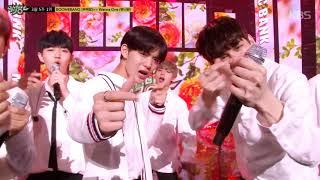 [뮤직뱅크] 3월 마지막 주 1위 Wanna One(워너원) - 'BOOMERANG(부메랑)' 세리머니 Cut 20180403