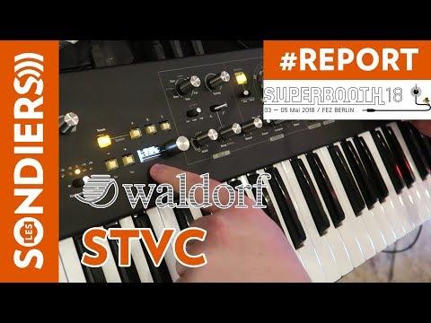 [SUPERBOOTH 2018] WALDORF STVC DEMO - un vocoder à cordes !!!