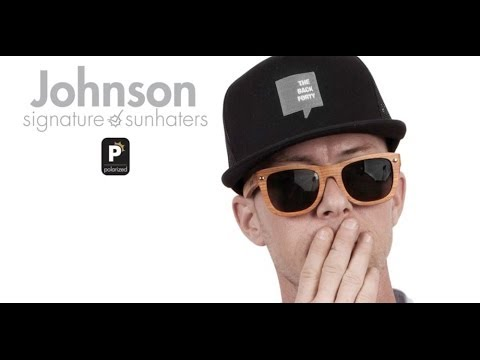 4e989e9e3ed Glassy Sunhater Marc Johnson Signature Sunglasses - Wood Frames + Hard Case