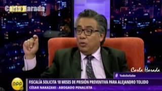 2017-02-07 - César Nakazaki en TODO SE SABE