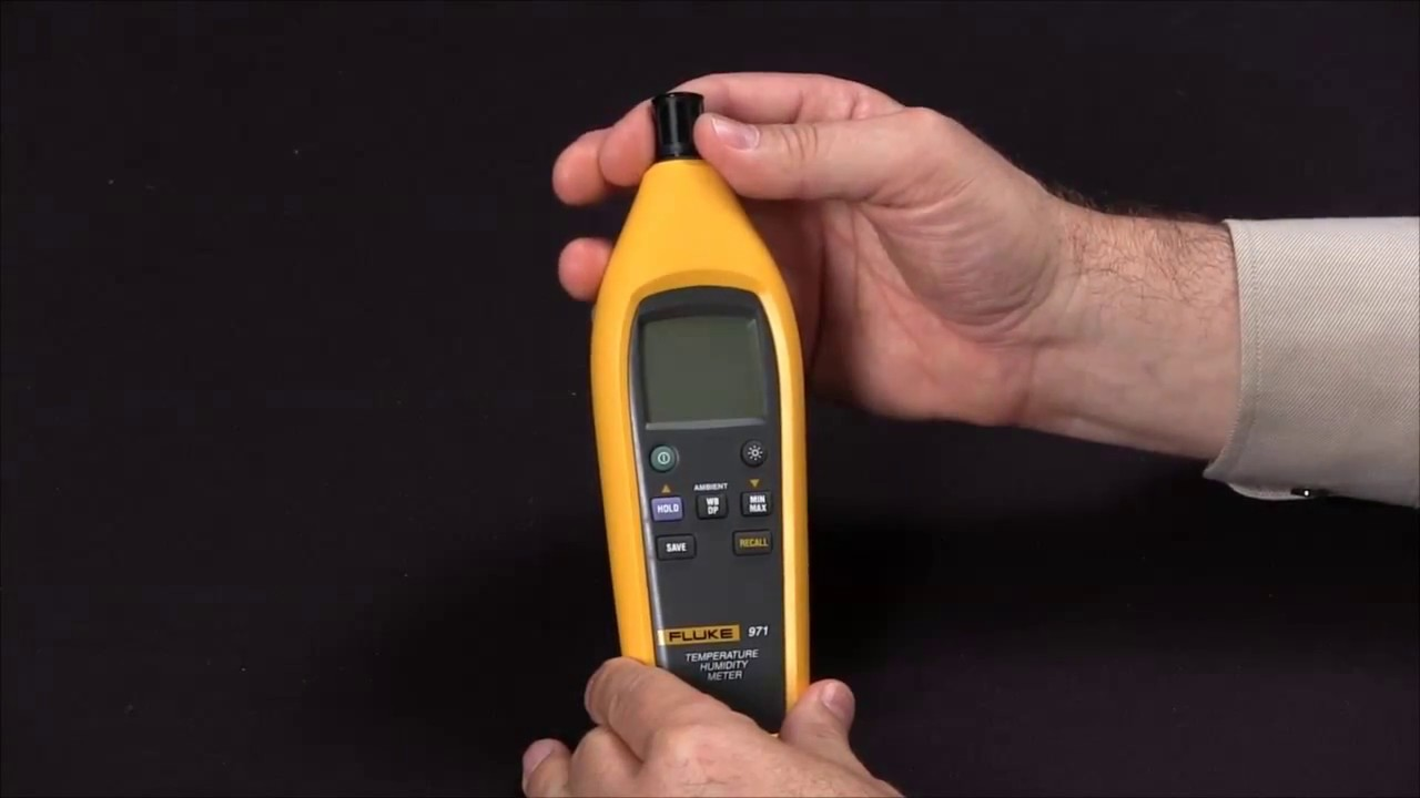 How To Use The Features On The Fluke 971