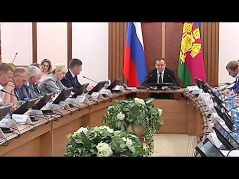 Смотреть Вениамин Кондратьев провел час контроля на Кубани онлайн