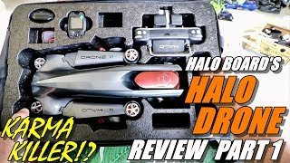 GoPro Karma Killer!? HALO DRONE PRO Review - Unboxing, Inspection & Setup - A Top Drone for 2018?