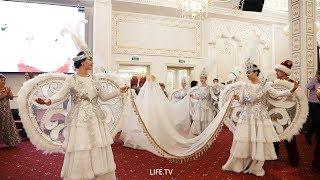 Большая красивая сюжетная свадьба в Уральске Ресторане Ак Сарай 2019