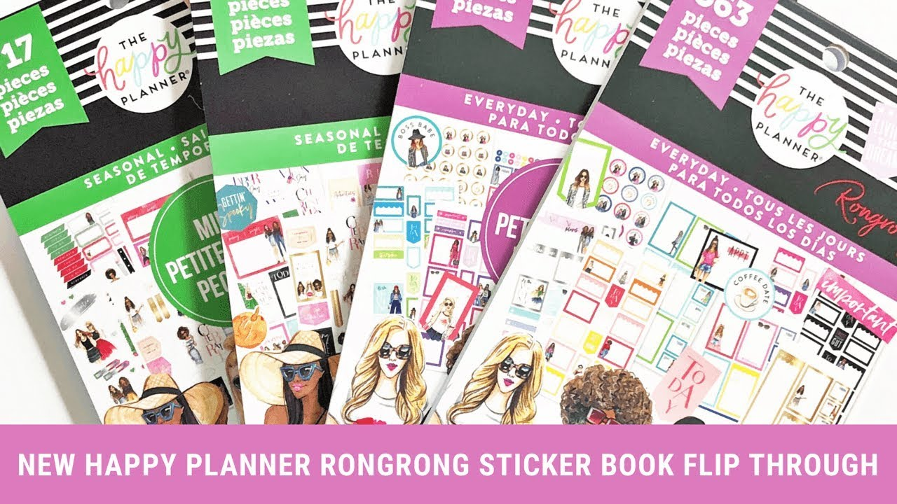 photo about May Books Planner identified as Contemporary Joyful Planner Sticker Publications Transform In the course of! Rongrong DeVoe - Could possibly 2019
